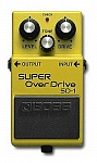 Фото:BOSS SD-1(B) Super OverDrive Педаль для электрогитары, бас-гитары