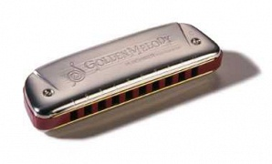 Hohner M542106 Golden Melody A-major Губная гармошка