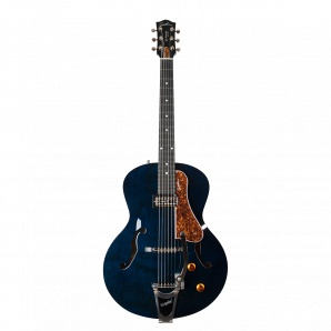 Godin 5th Ave Night Club Indigo Blue Электрогитара арктоп, с футляром