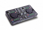 Фото:DJ-TECH IMIXMK2 USB/MIDI DJ CONTROLLER WITH AUDIO INTERFACE DJконтроллер,2 канала, эффекты