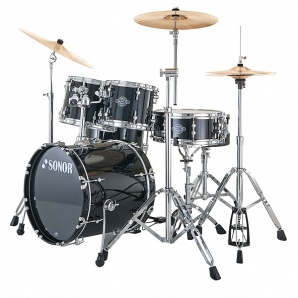 Sonor Smart Force Xtend SFX 11 Stage 1 Set WM NC Барабанная установка, чёрная