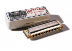 Hohner M1896436 Marine Band Classic D-natural-minor Губная гармошка