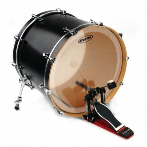 Evans BD24GB2 EQ2 Clear Пластик для бас-барабана 24""