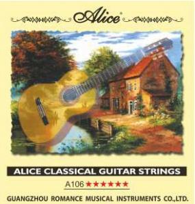 A106-H Струны для классической гитары Alice