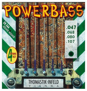 Thomastik EB344 Power Bass Комплект струн для бас-гитары, Medium Light, 47-107