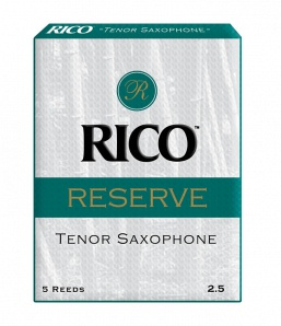 Rico RKR0525  Reserve Трости для саксофона тенор, размер 2.5, 5шт
