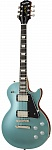 Фото:EPIPHONE Les Paul Modern Faded Pelham Blue Электрогитара