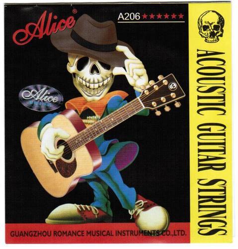A206-L Light Струны для акустической гитары Alice