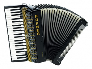 Hohner A2062 ATLANTIC IV 120 black Аккордеон