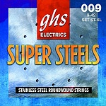 Фото:GHS ST-XL Super Steels Комплект струн для электрогитары