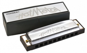 M57203x Hot Metal D-major Губная гармошка, Hohner
