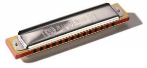 Hohner M36590 Marine Band SBS A-major Губная гармошка