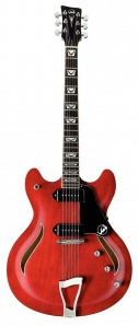 VGS Mustang VSH-110 Transparent Cherry Red электрогитара