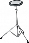 Фото:REMO RT-0008-ST PRACTICE PAD, Gray, Coated Head, With Stand 8'' Тренировочный пэд