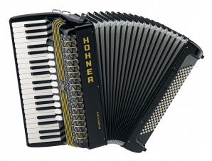 Hohner A2066 ATLANTIC IV 120 M black Аккордеон
