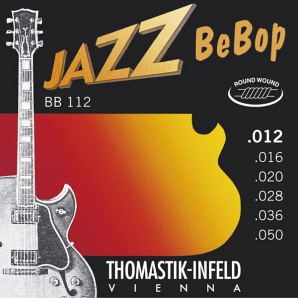 Thomastik BB112 Jazz BeBob Комплект струн для электрогитары, Light, сталь/никель, 12-50