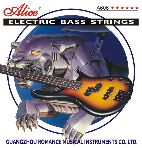 A606(6)-M Комплект струн для 6-струнной бас-гитары, никель, 32-130, Alice