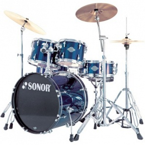 Sonor Smart Force Xtend SFX 11 Stage 1 Set WM Барабанная установка, синяя