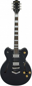 Gretsch G2622 Streamliner Center Block with V-Stoptail Broad'Tron Pickups Black Полуакустическая электрогитара