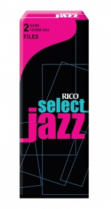 Rico RSF05TSX2H Select Jazz Трости для саксофона тенор, размер 2, жесткие (Hard), 5шт
